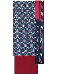 Bharathi Ikat Fabs Women's Cotton Unstitched Salwar Suit (Multi Coloured)