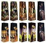Taunus 99-3005 - 10 Flaschentüten mit Weinmotiven