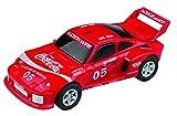 Cartronic Modell-Auto Porsche Turbo 935 (Typ Coca Cola), Sportrennwagen in Rot, Maßstab 1:24; originalgetreues Fahrzeug für Auto-Rennbahnen