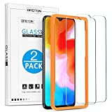 OMOTON Lot de 2 Oneplus 6T Verre Trempé Film Protection Ecran avec Kit d'installation, sans Bulles, Facile Installation (2.5D Bords Arrondi, 6.41 Pouces)