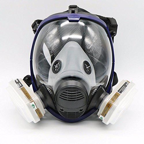 7 Stück Anzug Malerei Sprühen Dekoration Holzbearbeitung Für 6800 Maske Vollgesichtsmaske ()