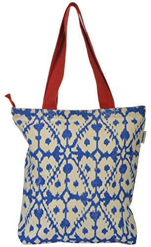 Pick Pocket Women's Tote Bag (Blue, Toin306)  available at amazon for Rs.149