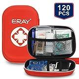 ERAY Erste Hilfe Set Outdoor, Verbandtasche 120-teilig inkl. Wundschnellverband und Verband, Ideal für Wandern, Reisen, Büro, Auto