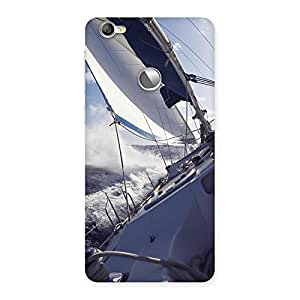 Delighted Floating Boat Back Case Cover for LeTV Le 1s