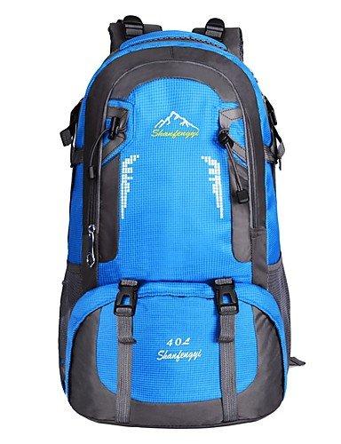 ZQ 40 L Tourenrucksäcke/Rucksack / Travel Organizer Legere Sport Draußen Wasserdicht / Schnell abtrocknend / tragbar / Atmungsaktiv andere Blue