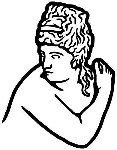 Wandtattoo Venus Gott Göttin Götter Wand Tür Bad Aufkleber Wandsticker Wandaufkleber Schlafzimmer Wohnzimmer Schlafzimmer Autoaufkleber Türaufkleber Bad Fenster 5B198, Farbe:Gold glanz, Hohe:40cm