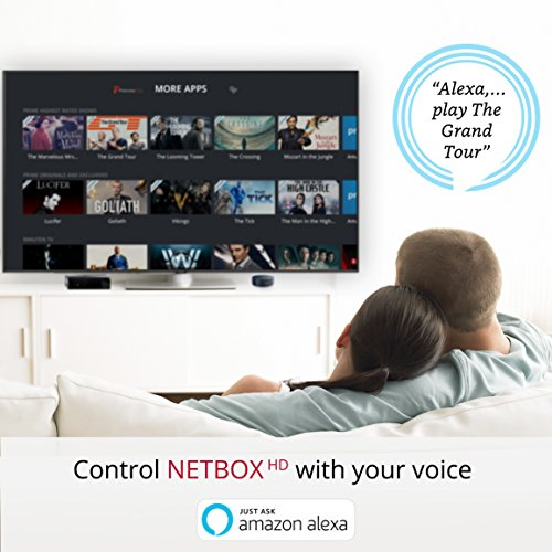 Netgem NetBox - Full HD Streaming and Alexa Voice Control