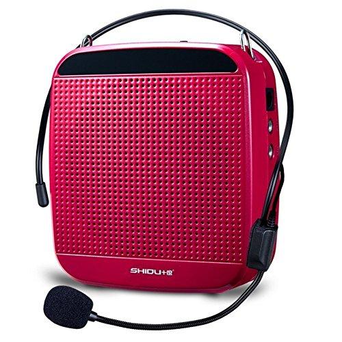 Zoweetek® voz amplificador 18W alta potencia salida megafonía con micrófonos para profesores guías