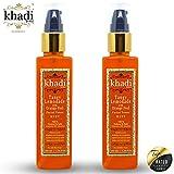 #1: Khadi Global Tangy Lemonade With Orange Peel MIST Facial Toner 100% Natural & Safe Contains No Alcohal Pack Of 2 (Total 200 ml)