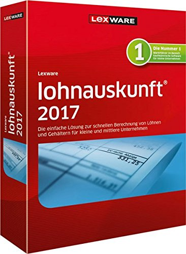 Lexware Lohnauskunft Netz 2017 Jahresversion (365-Tage)