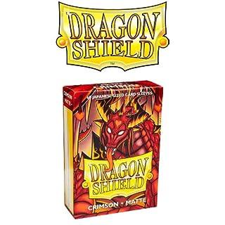 Arcane Tinmen ApS ART11121 Dragon Shield Japanese Matte Crimson Card Game