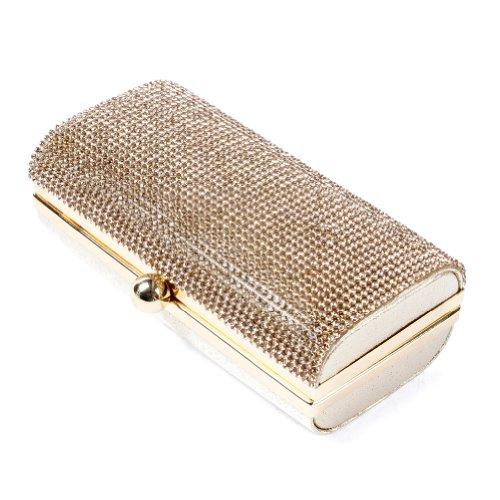 Damara, Borsa a spalla donna Medium Oro (oro)