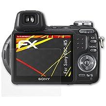Sony DSC-H5 Protezione Pellicola dello Schermo - 3 x atFoliX FX-Antireflex-HD ad alta risoluzione antiriflesso Pellicola Protettiva Pellicola Proteggi