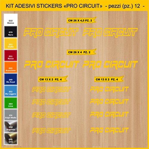 Pimastickerslab Pegatinas adhesivos PRO CIRCUIT -12