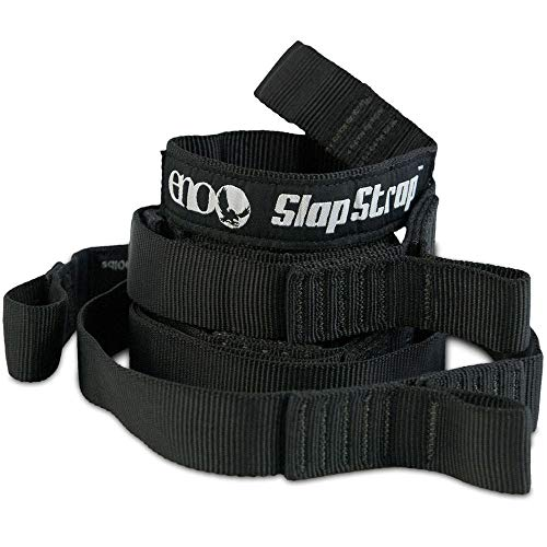 Eno Slapstrap Suspension Strap for Hammock One Size Black -