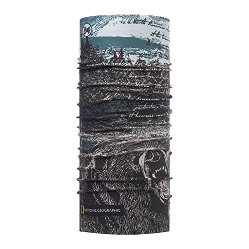 Buff National Geographic High UV Protection Größe one Size silvertip Multi Buff High Uv-protection