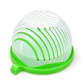 Anano Fruit Salad Cutter Bowl-60 Second Salad Maker ,Food Grade ABS Vegetable Cutter