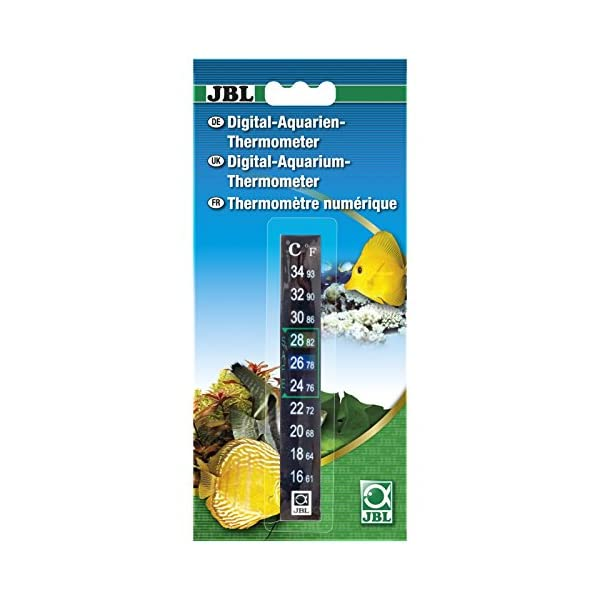 JBL Aquarium Thermometer Digital, Digital aquarium thermometer