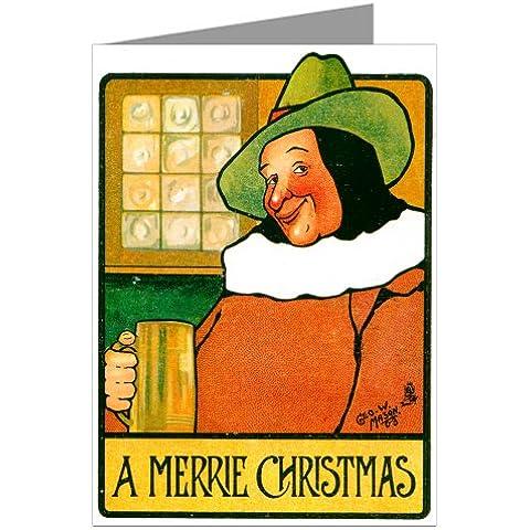 Dodici vino lettura Victorian Sudsy allietare le vacanze di Natale nota-scheda in un box-set