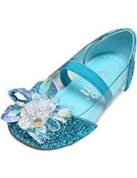 5fff290c1feaa Amur Leopard Enfant Fille Chaussure Reine des Neiges Princesse Déguisements  Diamant Sandale Crystale