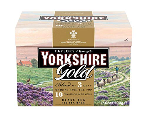 Yorkshire Tea Bags Gold ( 6 x 160 Pack )