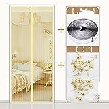 G-D-LTH die tür Fliegengitter für Türen, Sommer - Fenster - Schlafzimmer mücke vorhang-C-120x200cm(47x79inch)