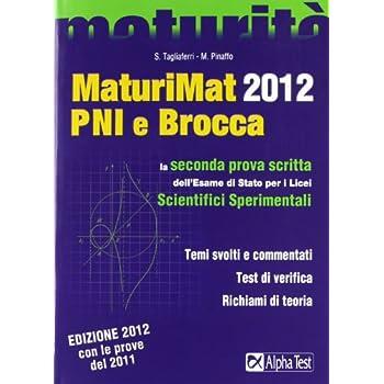 Maturimat 2012 Pni E Brocca