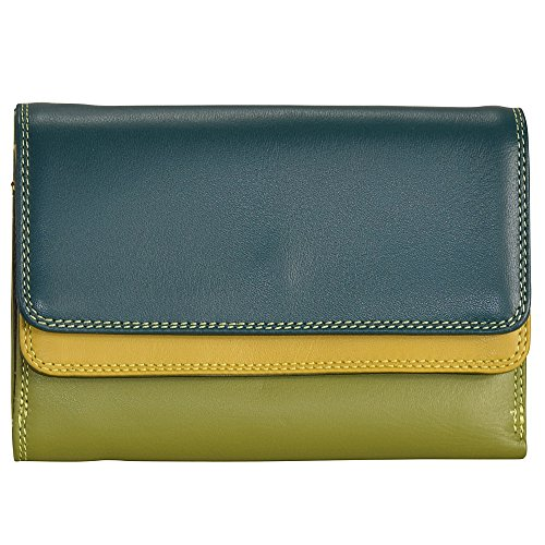 mywalit-double-flap-wallet-leather-13-cm-evergreen