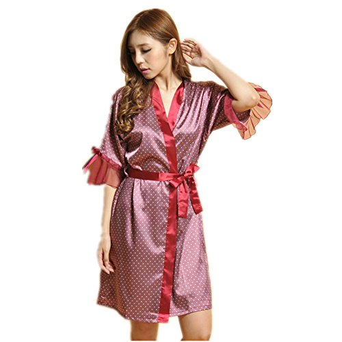 LIUDOU Primavera abito corsetto di seta donne abbigliamento Leisure Bath