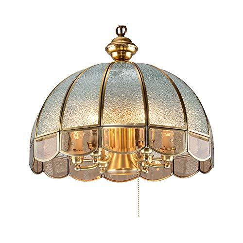 Colgante de Luz Europeo Retro De Dormitorio Estudio Lámpara Mahjong Lámpara Lámpara...