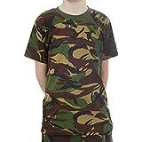 Los niños del camuflaje del ejército t - shirt - Edades 2-14 ( edad 5-6 años)