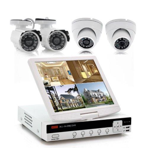 BW-4-ch-de-seguridad-DVR-Kit-con-10-inch-Protector-de-Securitex--2-x-Cmaras-al-aire-libre-2-x-Cmaras-para-interiores-visin-nocturna-soporte-HDMI-1-TB-SATA-disco-duro-incluido