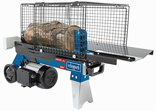 SCHEPPACH HL460 Hydraulikspalter Holzspalter bis 370 mm   4 Tonnen Spaltkraft 4t   Brennholzspalter 230 V   Holzspalter stehend 1500 W