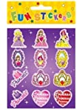 12 PACKS PRINCESS STICKERS PARTY BAG FILLERS