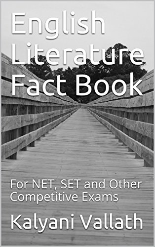 English Literature Fact Book: For NET, SET and Other Competitive Exams (English Edition)