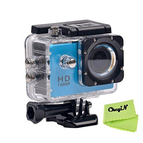 CkeyiN ® 1080P Full HD Impermeable Cámara de Acción Deportiva con P