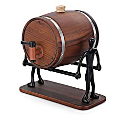 iSteel Wooden Decanter with Stand