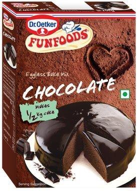 Funfoods Eggless Cake Mix Chocolate, 250g
