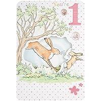 Gemma International Guess How Much I Love You 1st Birthday Card