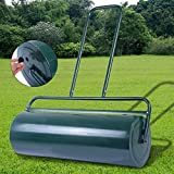 COSTWAY Garden Grass Roller, Large Capacity Lawn Push Rolling Tool, Heavy Duty Drum