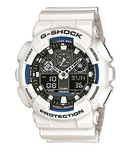 Casio G-Shock GA-100B-7AER, Orologio da polso Uomo, Grigio (Grigio/Bianco)