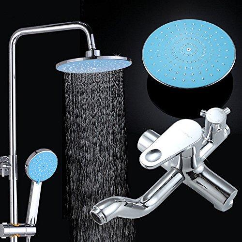 Hlluya Wasserhahn für Waschbecken Küche Handheld Dusche-zu-Dusche Dusche Dome Sprinkler Dusche Kit Dusche Wasserhahn