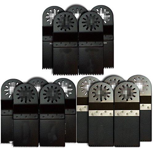 ZFE 15tlg Oszillierenden Multitool Sägeblatt-Set für Multimaster Bosch Fein,Dremel