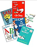 Dr. Seuss Book Set (6) : The Cat in the Hat - Green Eggs and Ham - Are You My Mother - Sam and the Firefly - Abc - The Foot Book (Dr. Seuss Collection)