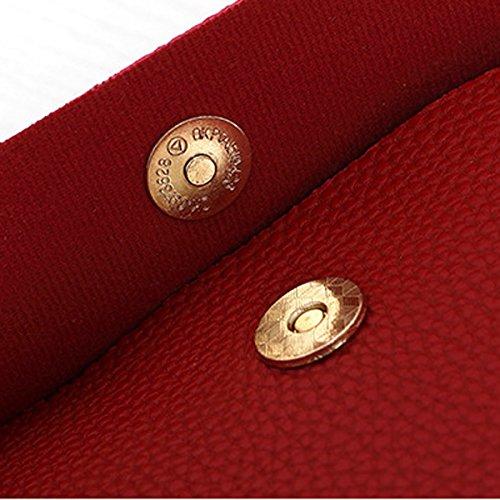 Nuove Borse Sacchetto Di Spalla Di Modo Sacchetto Di Messaggero Delle Donne La Tendenza Delle Borse Sacchetti Casuali Red