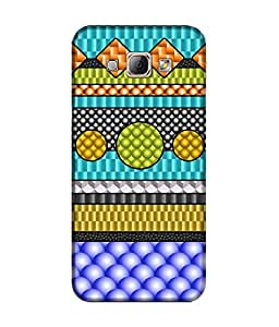 """NH10 DESIGNS 3D PRINTING DESIGNER HARD SHELL POLYCARBONATE """"PATTERN"""" PRINTED SHOCK PROOF WATER RESISTANT SLIM BACK COVER MATT FINISH FOR SAMSUNG GALAXY A8"""