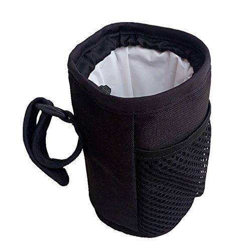 Preisvergleich Produktbild Kinderwagen Flasche Tasse Halter Tasche, Schwarz