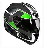 TORX Motorradhelme Billy Swap, grün, Größe L