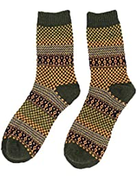 Shuzhen,5 pares de calcetines de estilo retro de tubo de hombre.