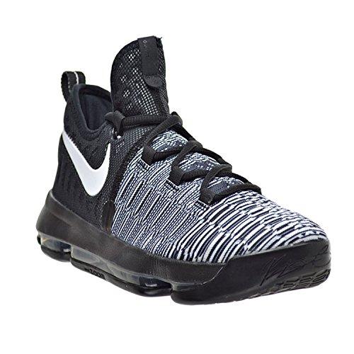 Nike Jungen Zoom Kd9 (Gs) Basketballschuhe Blanco (Black / White)